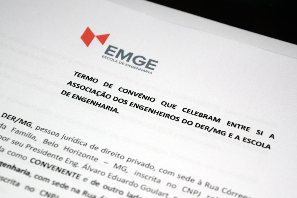 Convênio prevê desconto nas mensalidades da EMGE.