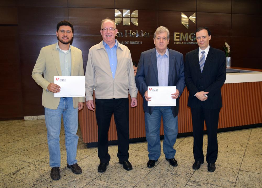 Franclim Brito, Luiz Gonzaga Chaves Campos, Álvaro Eduardo Goulart e José Antônio de Souza Neto.