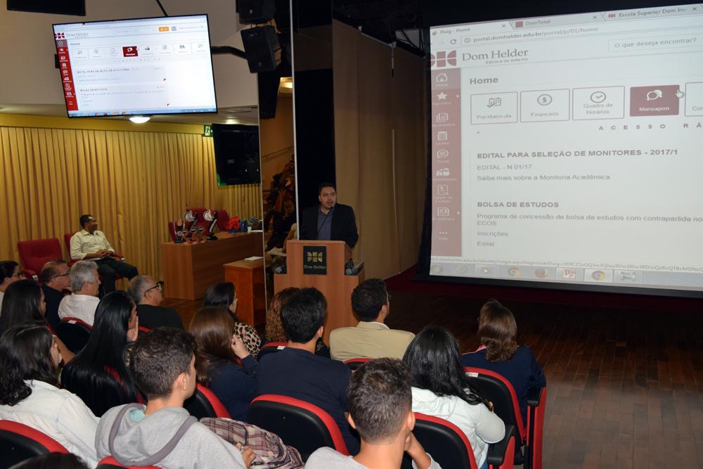 Cristiano Lacerda, gerente de tecnologia da informação.