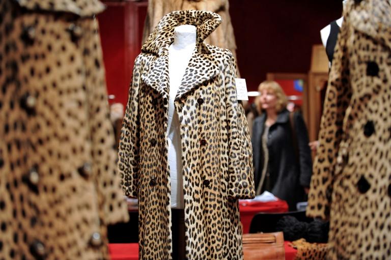 Casacos vintage em exposição na capital francesa antes de serem leiloados