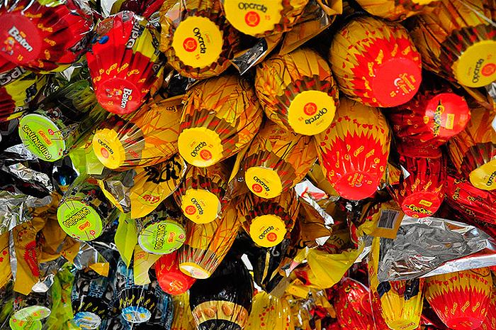 Taxa de desemprego no Brasil subiu a 12,6 por centoe deve inibir compra de chocolates.