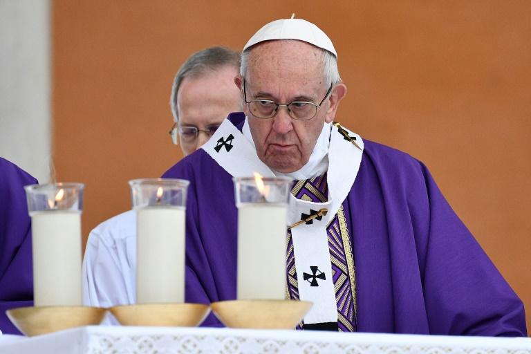 O Papa Francisco.