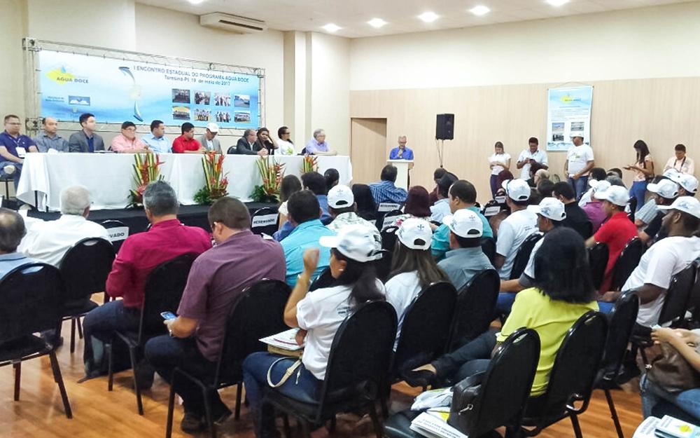 Encontro Piauiense do Programa Água Doce do CONANDA