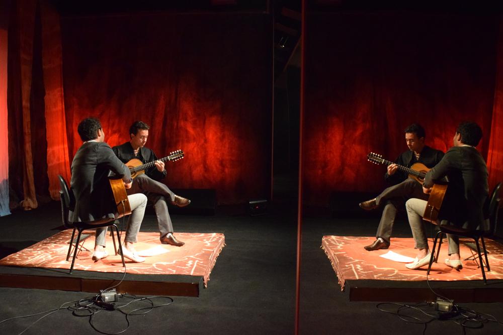 O músico Fernando Sodré fez participação em dueto com Christian Reichert.