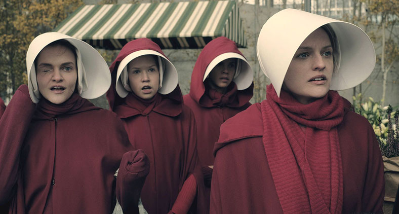 As aias da série: escravas da fertilidade.