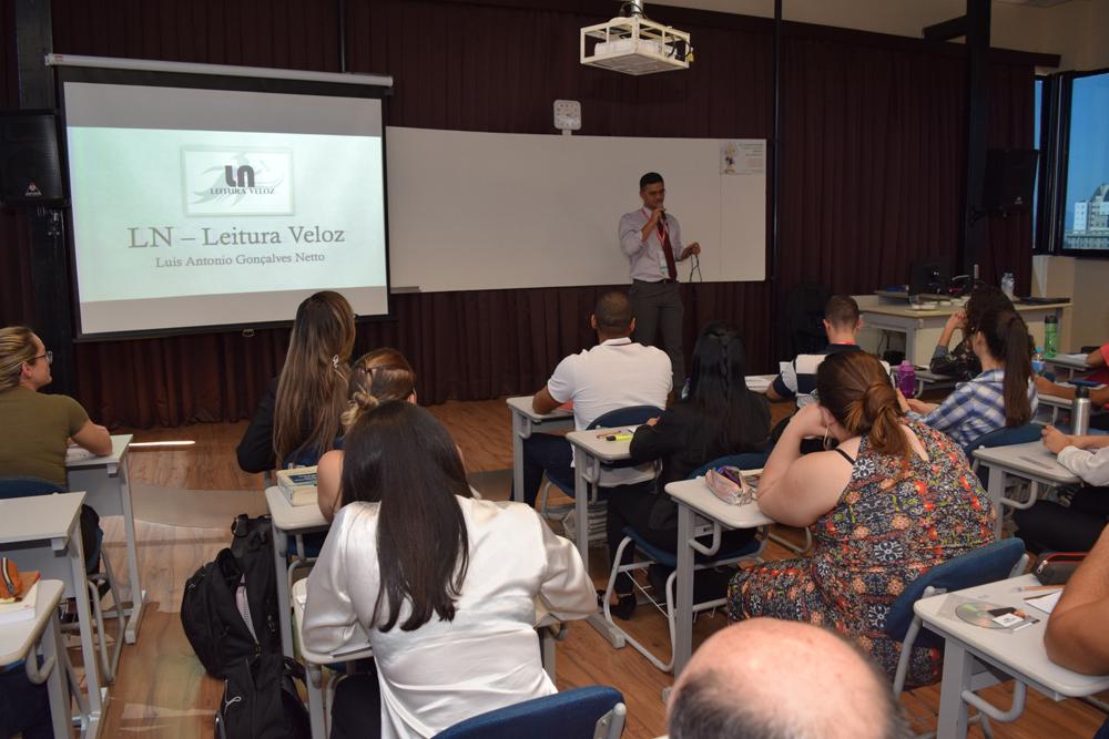 Luiz Gonçalves Netto apresentou a oficina