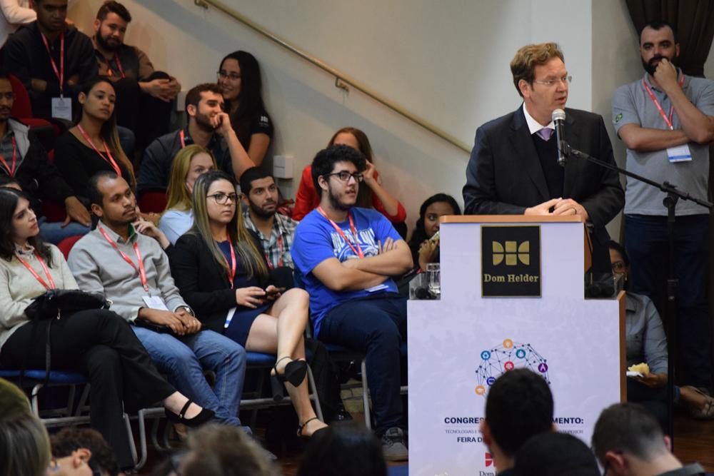 A participação da comunidade acadêmica da EMGE e da Dom Helder foi intensa em todo o congresso.