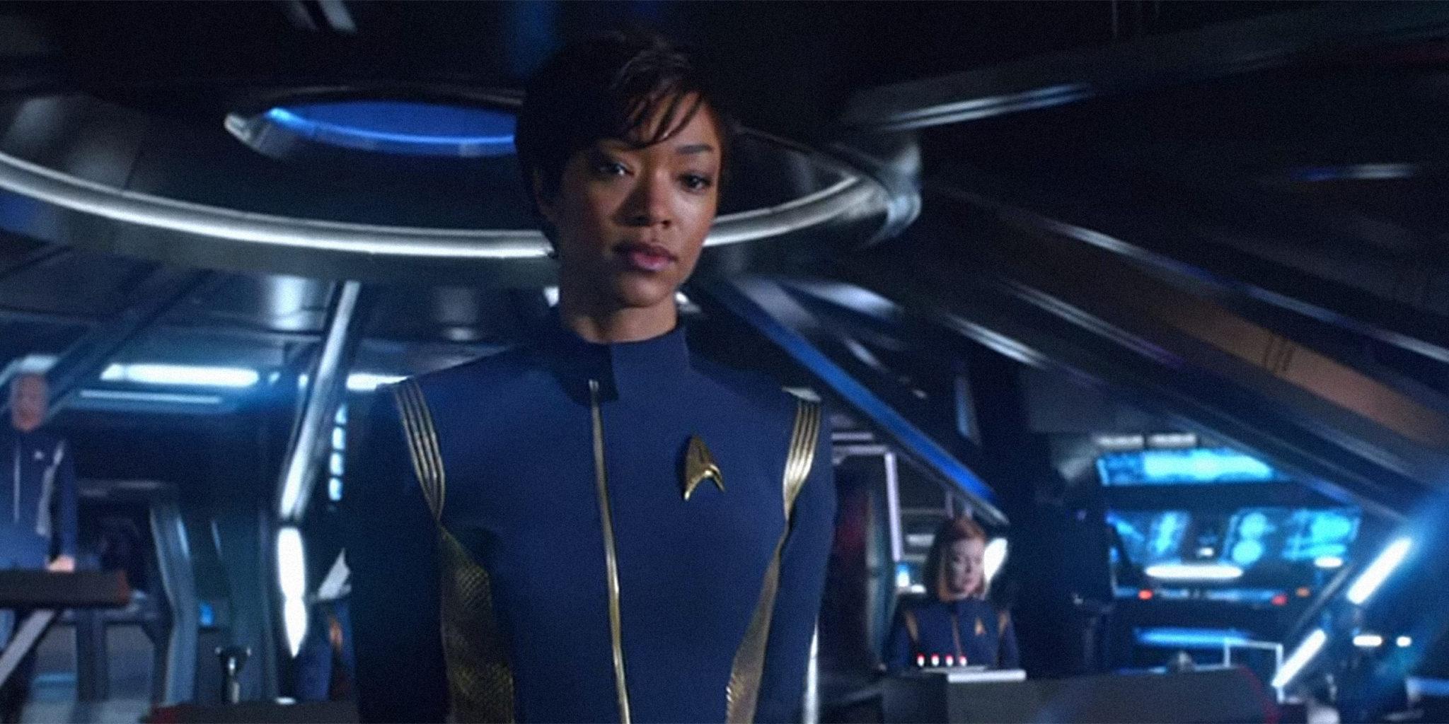 Sonequa Martin-Green: à altura da tradição de Star Trek.