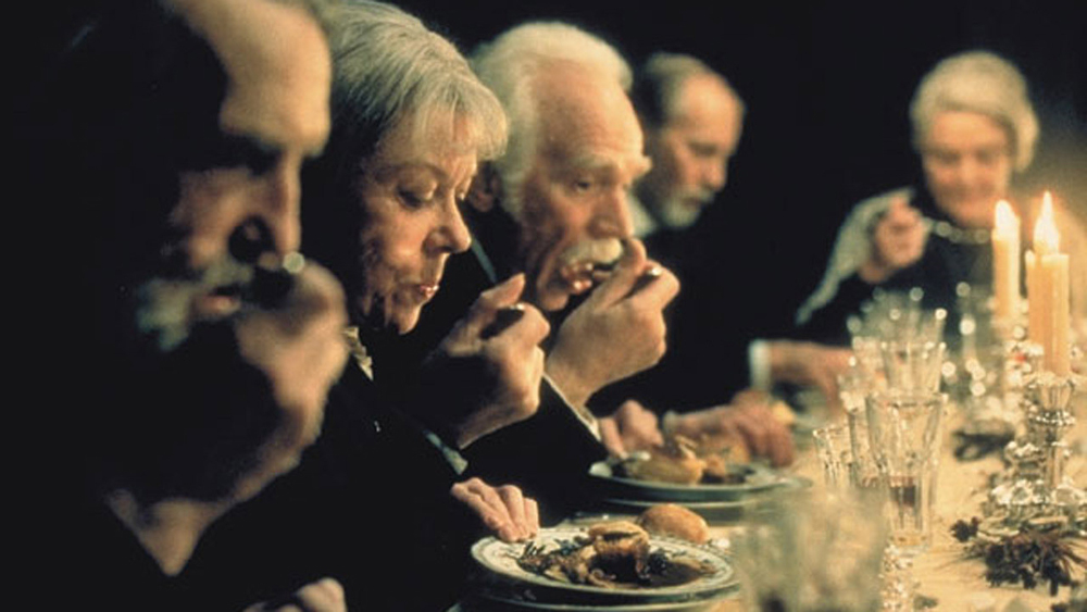 A salvação passa pela profusão de sabores, cheiros e beleza culinária.