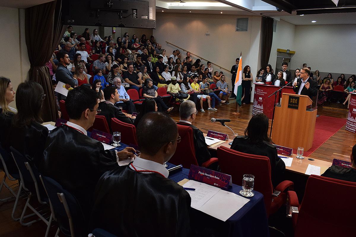 Grande Final da edição 2017 do Tribunal Internacional Estudantil (TRI-e).