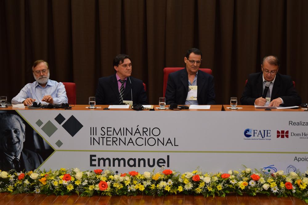 Seminário sobre Emmanuel Lévinas é uma realização da FAJE e Dom Helder.