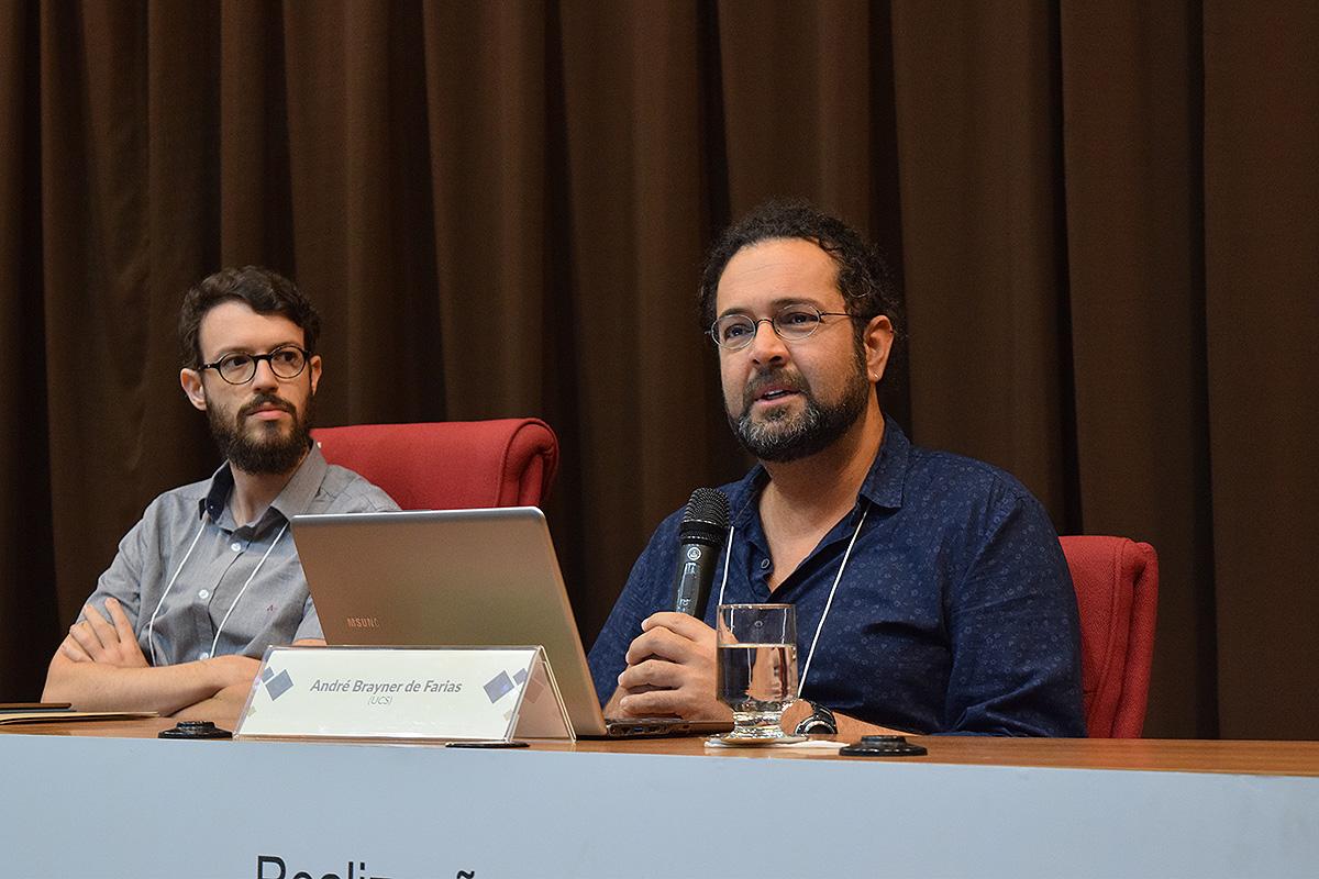 Diogo Villas Boas Aguiar (UFSM)  e André Brayner de Farias (UCS).
