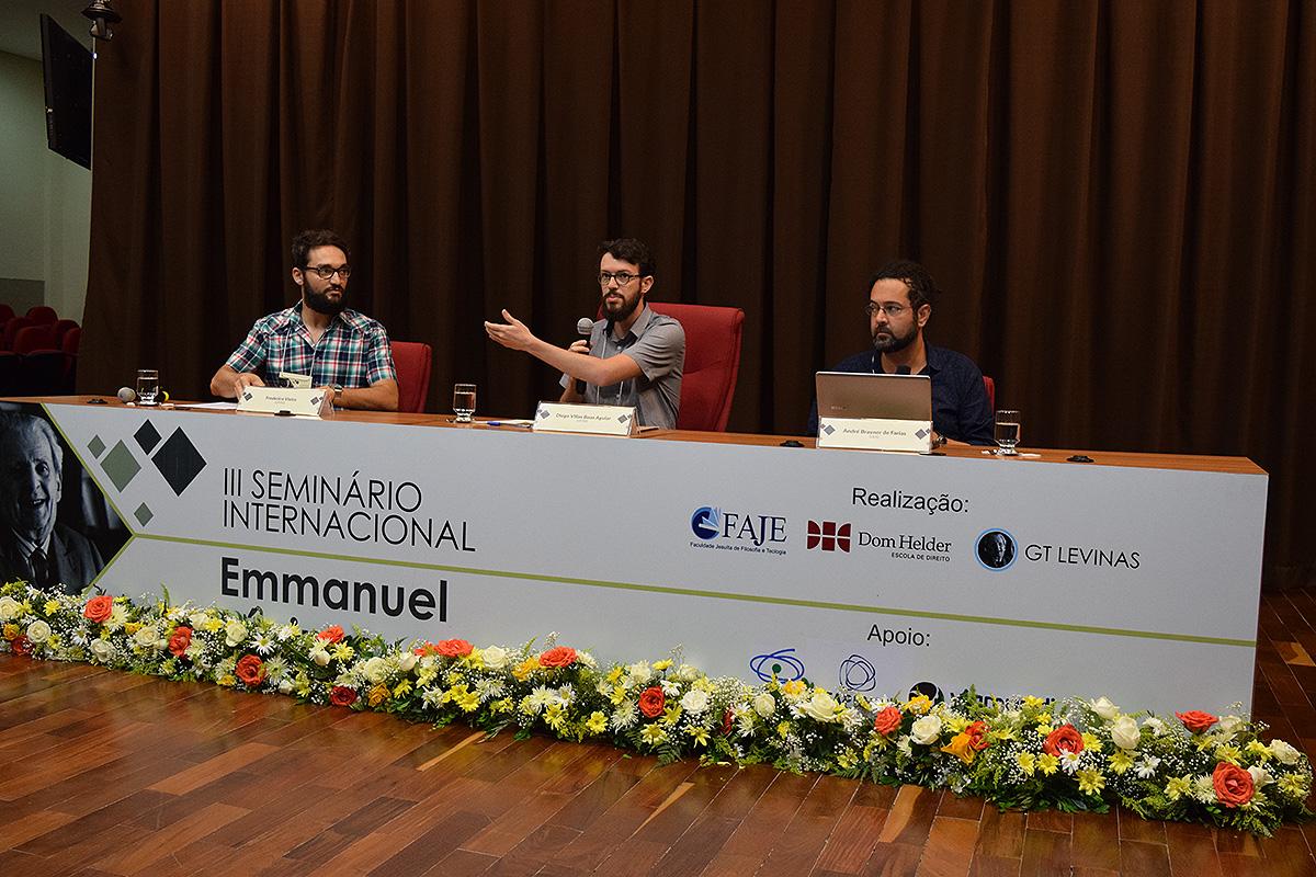 Frederico Vieira (UFMG), Diogo Villas Boas Aguiar (UFSM)   e André Brayner de Farias (UCS).