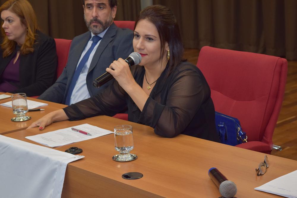 Debate promovido pela presidente da Comissão Estadual de Direito Ambiental da OAB Cíntia Ribeiro de Freitas movimentou o auditório na noite desta sexta.