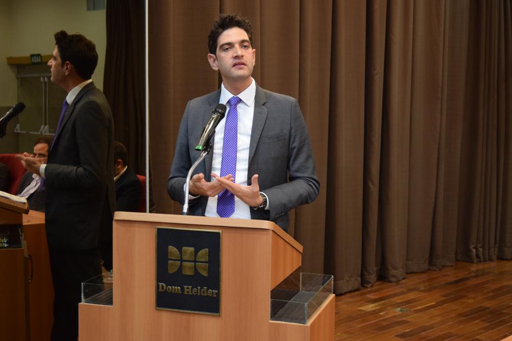 O juiz federal do Tribunal Regional Federal, Mário de Paula Júnior conversou com os participantes sobre os desafios de se julgar uma ação de cunho ambiental.