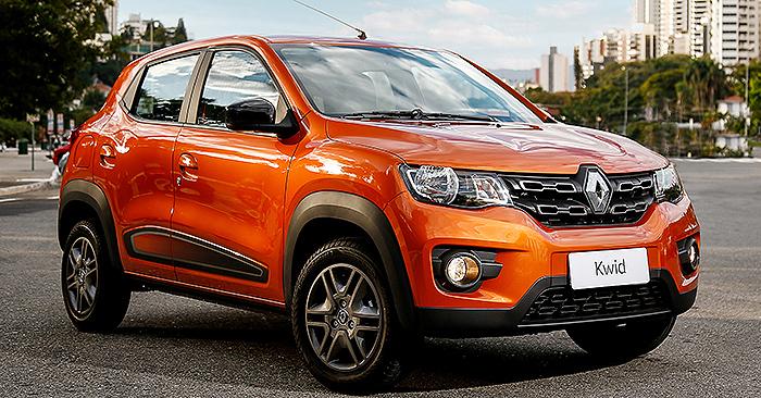 Renault Kwid está envolvido em dois recalls com mais de 34 mil unidades.