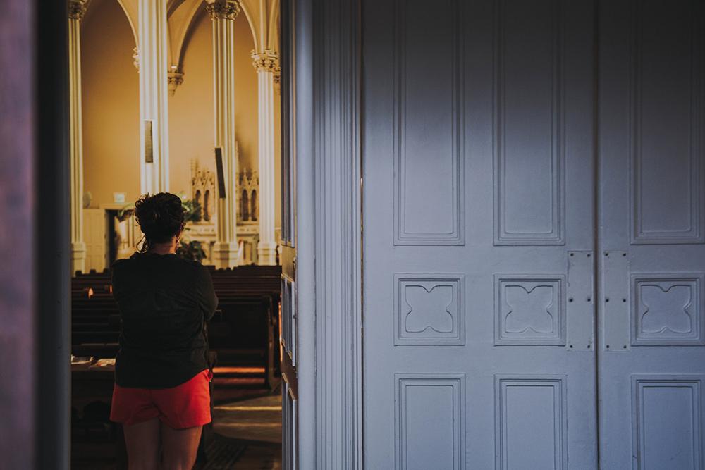 A Igreja foi 'escrita' pelas mulheres, escondidas nas salas de catequese nos panos cheirosos e engomados de nossos altares nas secretarias das nossas igrejas...