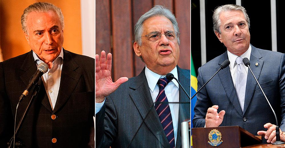Pesquisa aponta Temer, Collor e FHC como políticos com maior ...