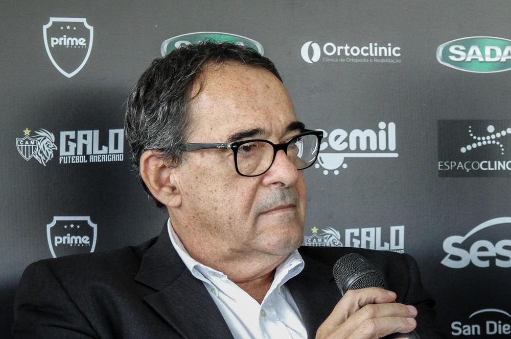 Bebeto de Freitas era diretor de administração e controle do Atlético