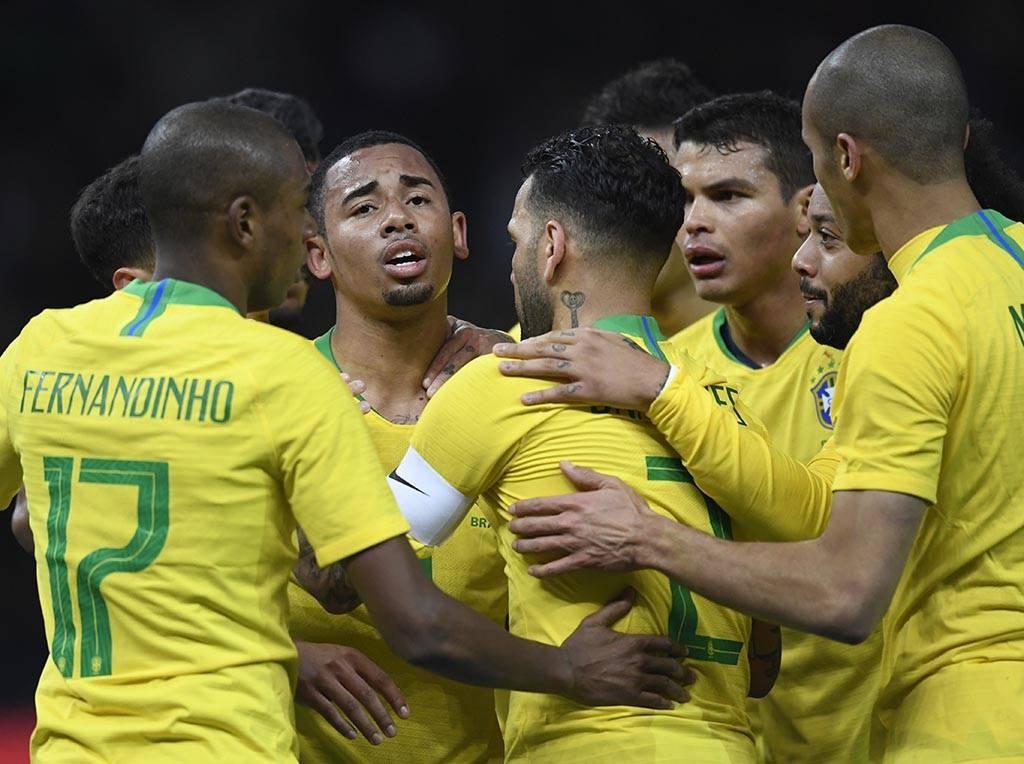 Seleção Brasileira confirmou o ótimo momento com vitória sobre a Alemanha