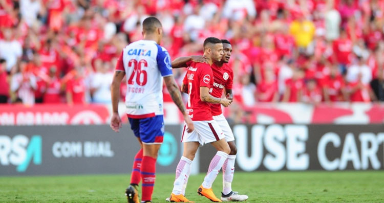 Retorno do Inter à elite do futebol nacional foi com vitória em Porto Alegre