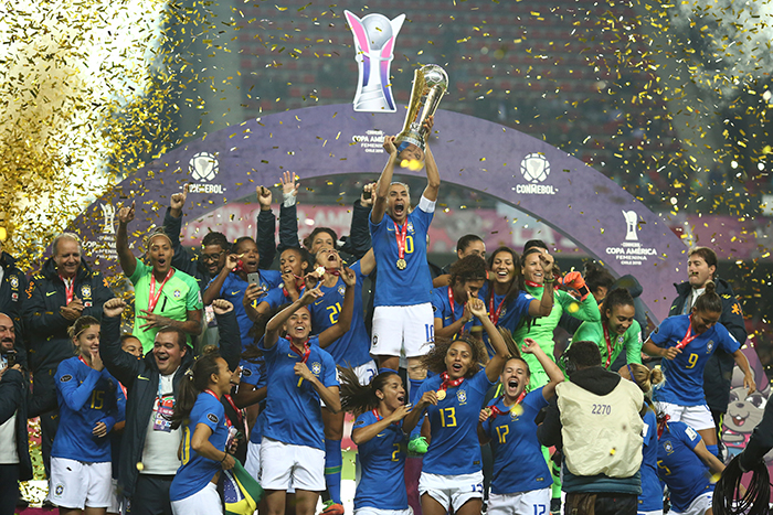 Resultado garantiu também ao Brasil vagas nas Olimpíada de 2020, no Japão, e na Copa do Mundo 2019, na França.