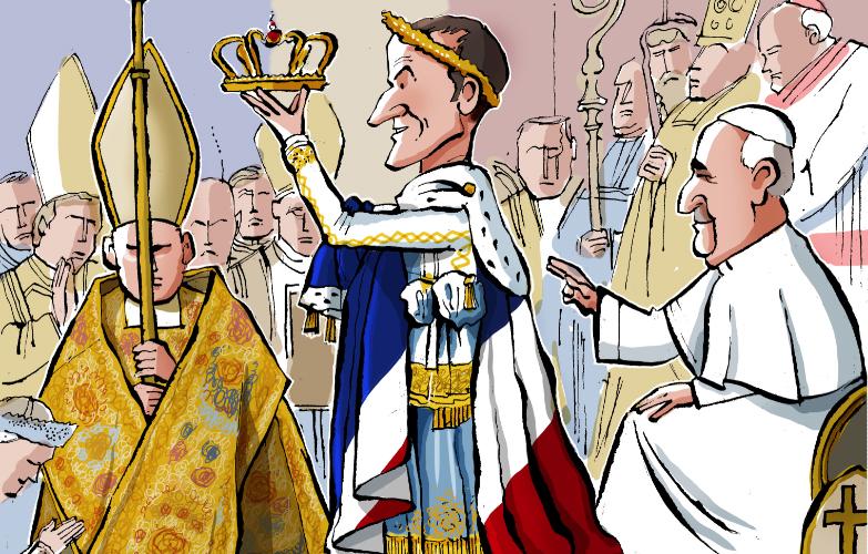 Por Que Macron Esta Cortejando A Igreja