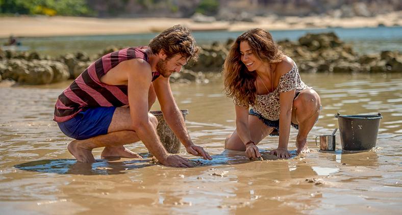 Personagem de Emilio Dantas se muda para Boiporã e se apaixona à primeira vista por Luzia, vivida por Giovanna Antonelli.