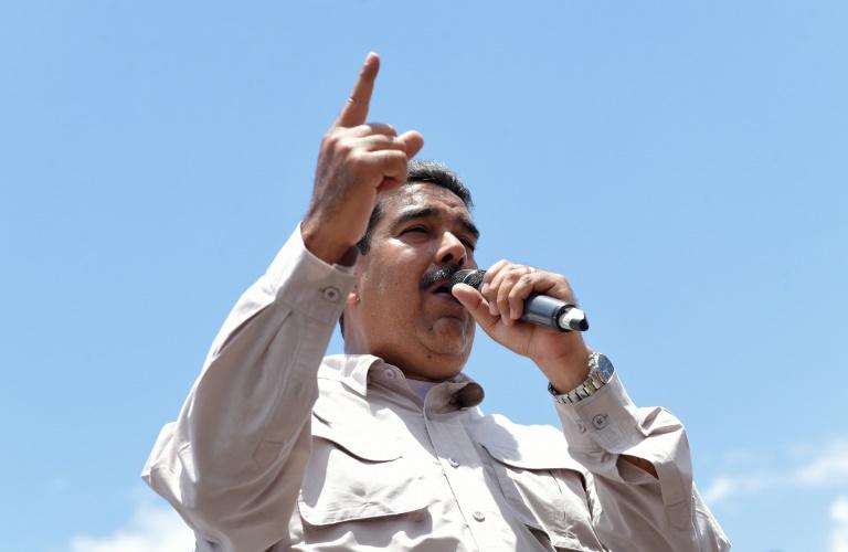 Maduro faz campanha em Charallave, arredores de Caracas