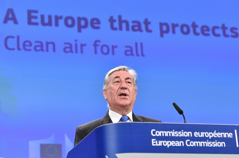 O comissário europeu para o Meio Ambiente, Karmenu Vella