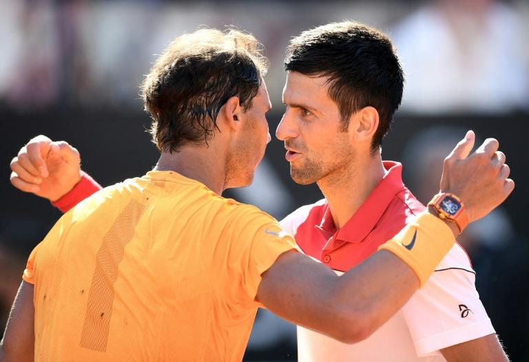 Rafael Nadal vence Novak Djokovic e avança à final do Masters 1000 de Roma, 19 de maio 2018