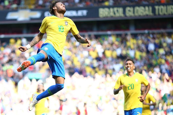 O amistoso foi o penúltimo da Seleção Brasileira antes da estreia na Copa do Mundo da Rússia.