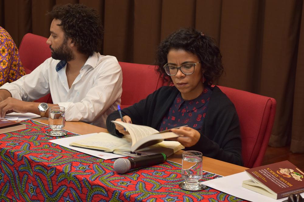 A coordenadora de Estudos Africanos da UFMG Vaniclea Santos.