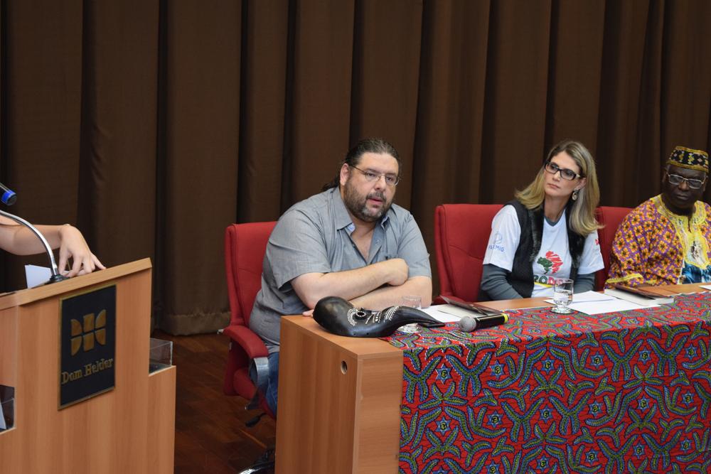 O coordenador do curso de Relações Internacionais da PUC-MG, Rodrigo Teixeira