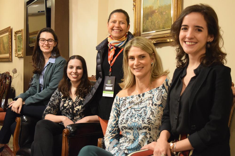 Presença feminina foi destaque no debate científico do congresso.