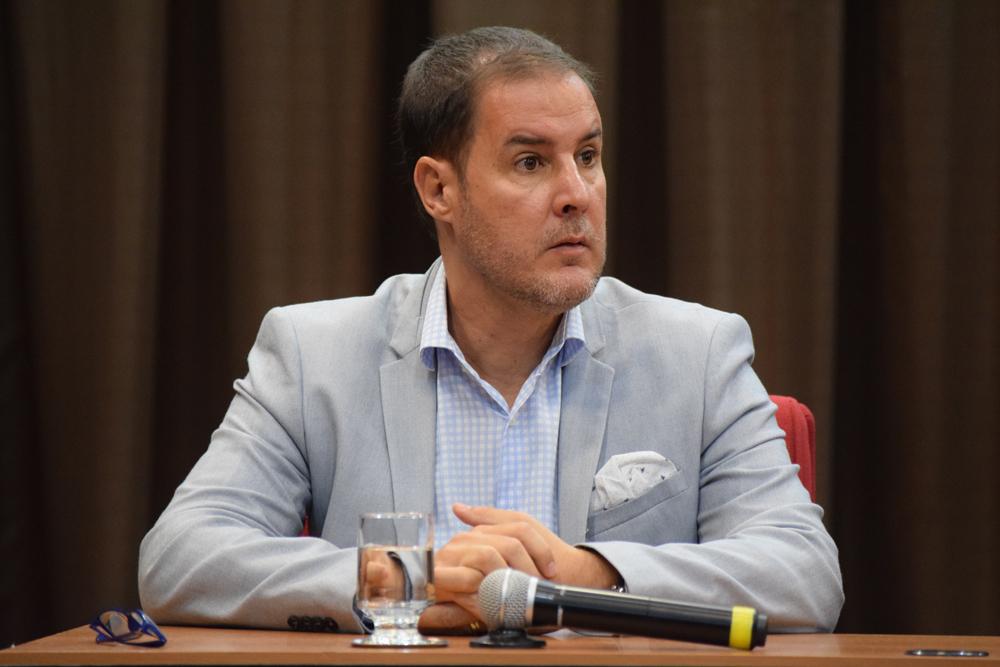 Fábio Veras de Souza foi um dos debatedores do segundo painel do congresso.