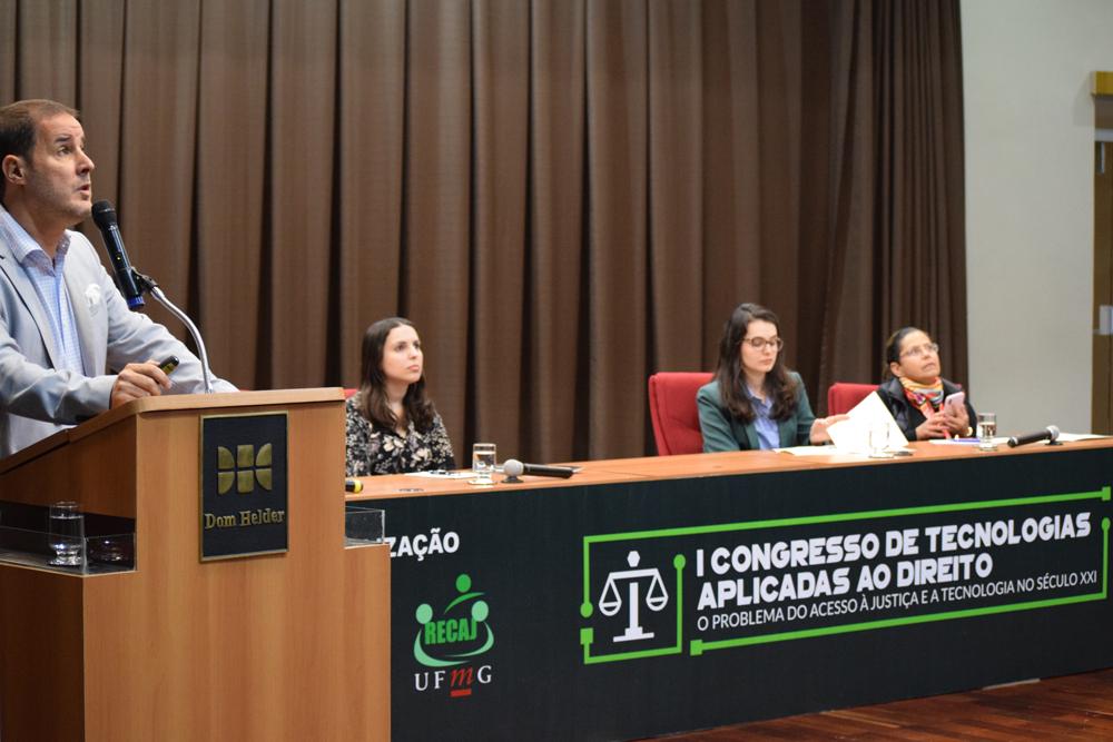 I Congresso de Tecnologias Aplicadas ao Direito foi realizado pela Dom Helder Escola de Direito e  RECAJ-UFMG.