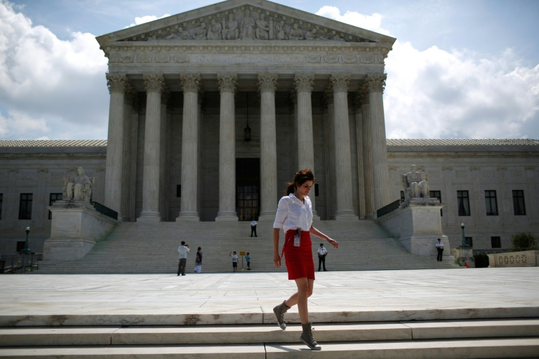 A Suprema Corte dos Estados Unidos, em Washington DC.