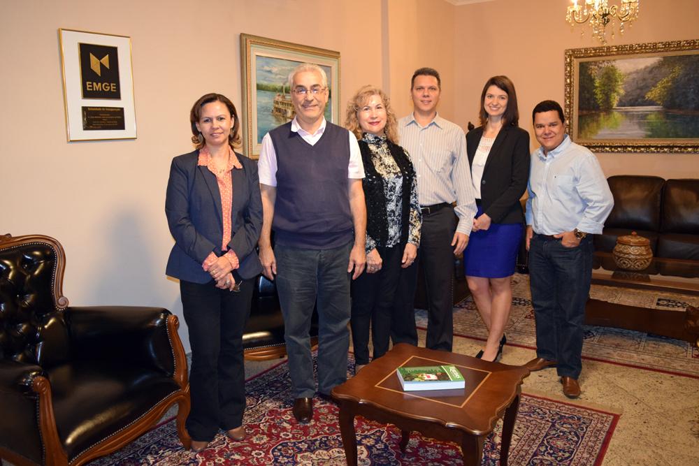 Anacélia Santos, Bernardo Abraão, Davina Márcia, Cláudio Soares, Aline Oliveira e Marcus Vinícius Cardozo.