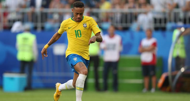 Nota dez para o psicólogo que assumiu a cabeça de Neymar após o jogo contra a Costa Rica. Desde então, ele parou de cair à toa e de xingar o 'apitador'. (Lucas Figueiredo/CBF)