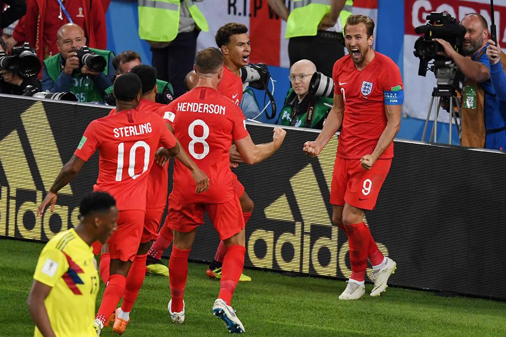 Inglaterra foi encarar Suécia nas quartas de final