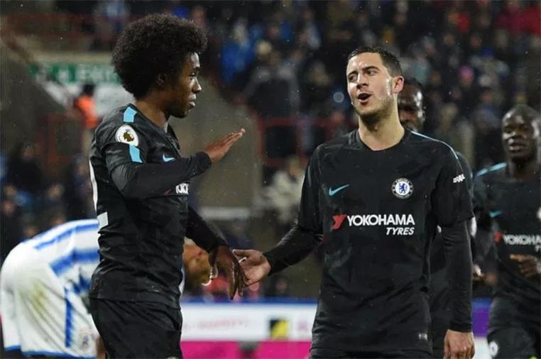Willian e Hazard são peças fundamentais no Chelsea.