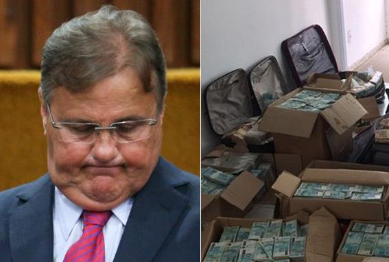 Para o MPF, o dinheiro é resultado da prática de atividades criminosas do político