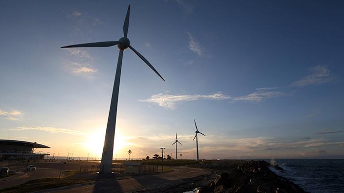 Segundo a associação, 80 por cento das cerca de 6,6 mil turbinas eólicas instaladas no país está no Nordeste.
