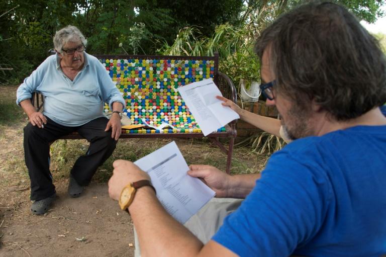 José Mujica e o cineasta Emir Kusturica