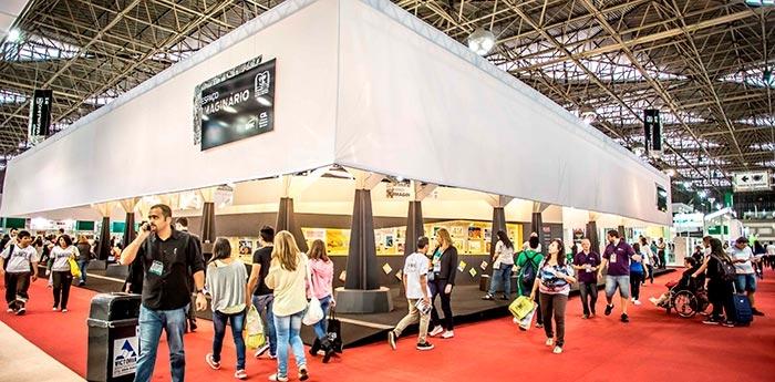 A Bienal do Livro de São Paulo 2018 recebeu 663 mil pessoas.