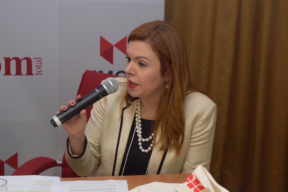 A promotora de Justiça do Ministério Público do Estado de Minas Gerais, Andressa de Oliveira Lanchotti, participou da abertura do Congresso