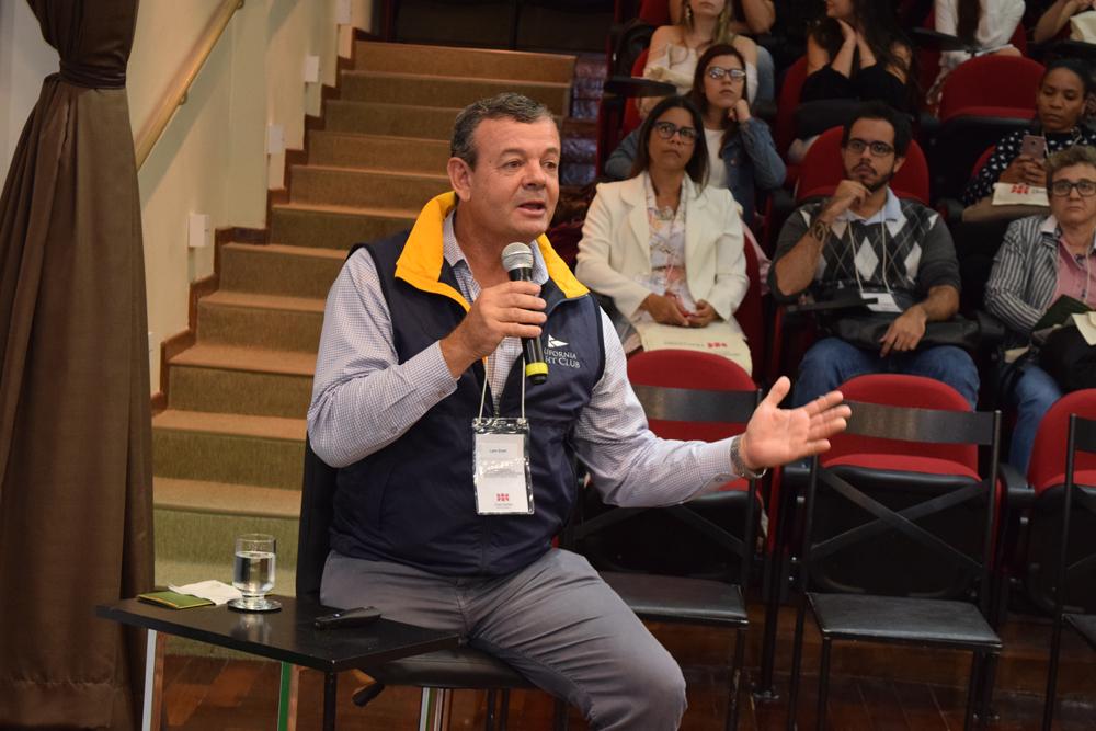 Palestra de Lars Grael motivou o público do V Congresso Internacional de Direito Ambiental e Desenvolvimento Sustentável