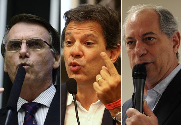 Pesquisas apontam segundo turno entre Bolsonaro e Haddad