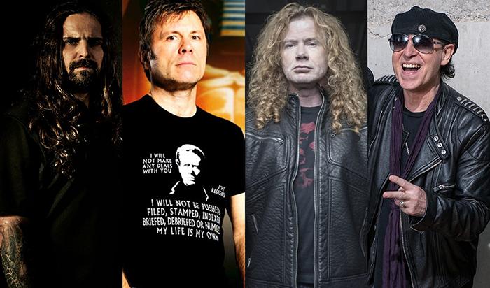 Sepultura, Iron Maiden, Megadeth e Scorpions estão na programação do dia do metal do Rock in Rio.